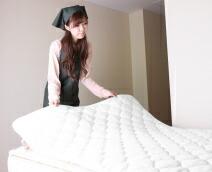 高級ホテルのベッドパッド
