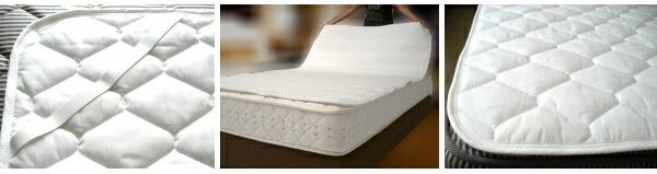 ホテルのベッドパッド ベッドパット