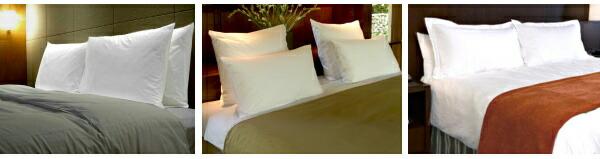 枕(ピロー)や枕カバー(ピローケース)を販売中 業務用・旅館の枕(ピロー)