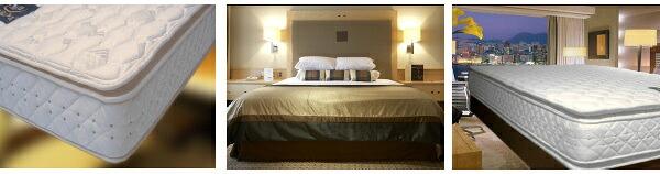 ホテルのベッドやマットレスを販売しています ピローソフト仕様(ピロートップ仕様) サータ「SERTA」のベッド
