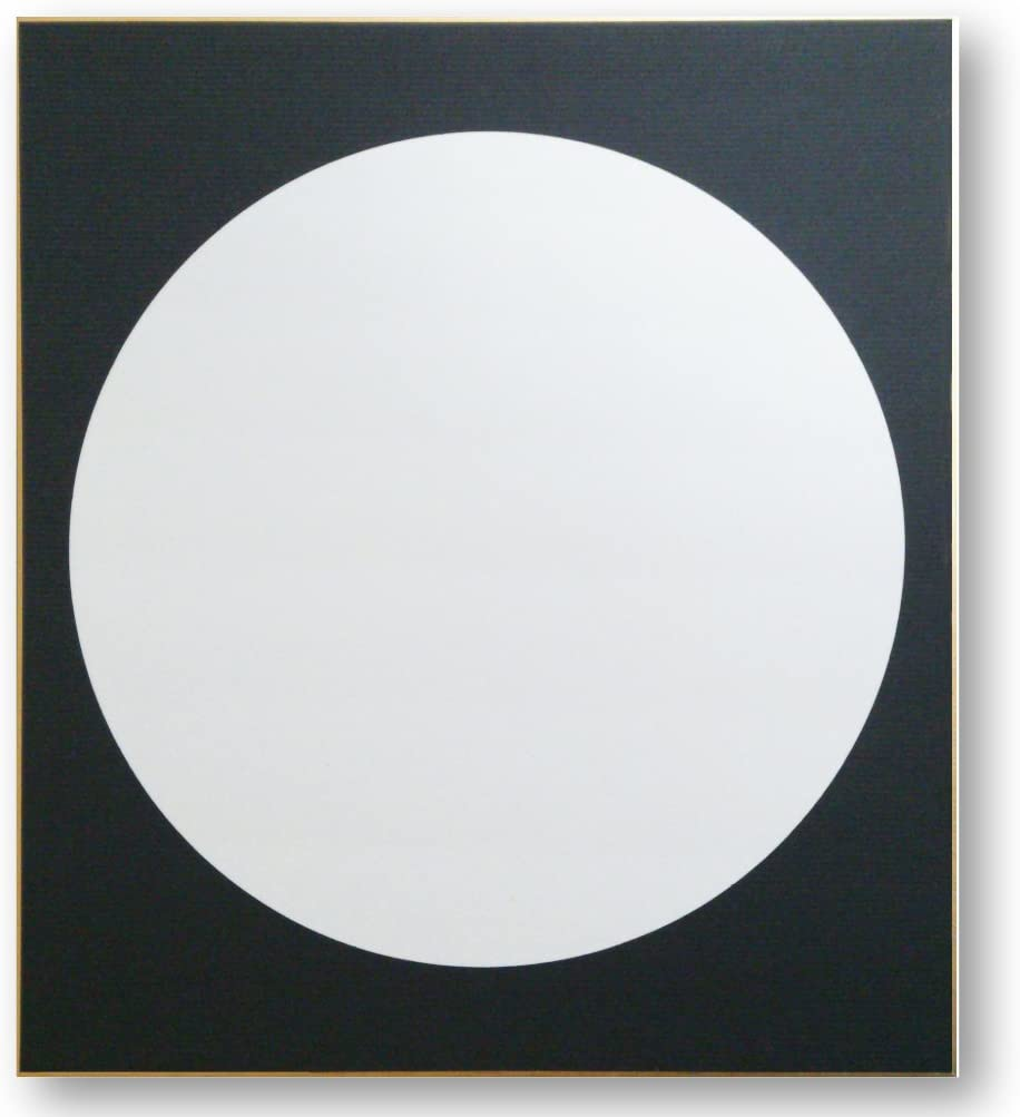 仏画色紙月輪
