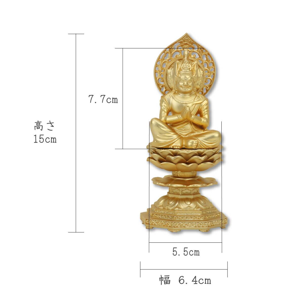 仏像 馬頭観音15cm