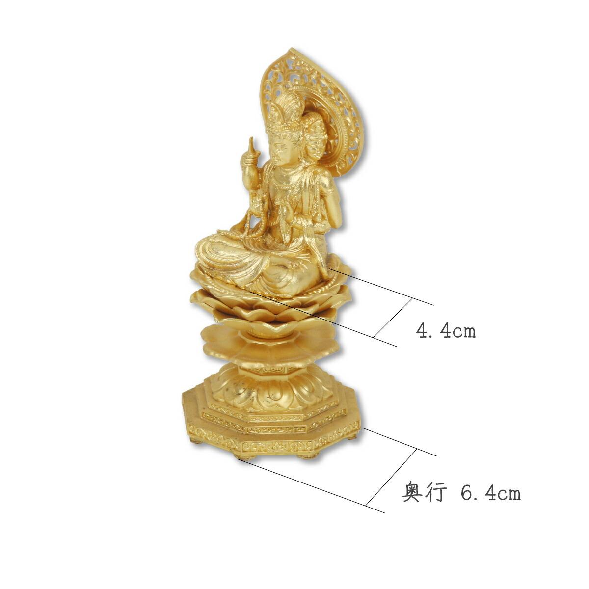 仏像 不空羂索観音15cm