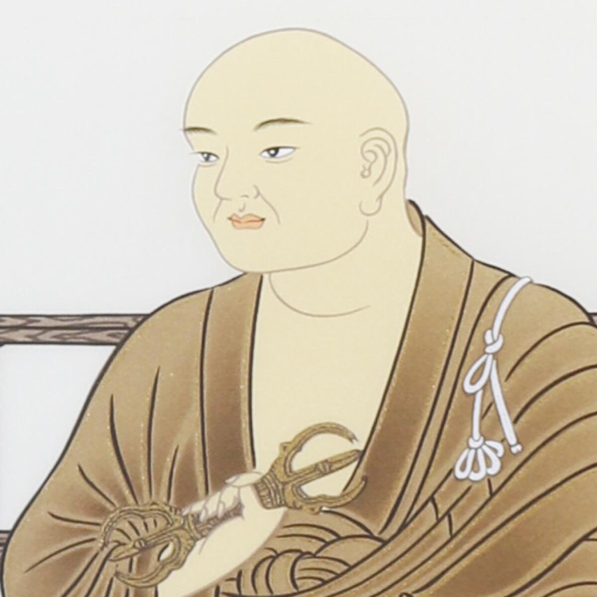 【四国八十八ヶ所霊場納経軸】逆打ち専用龍鳳大師