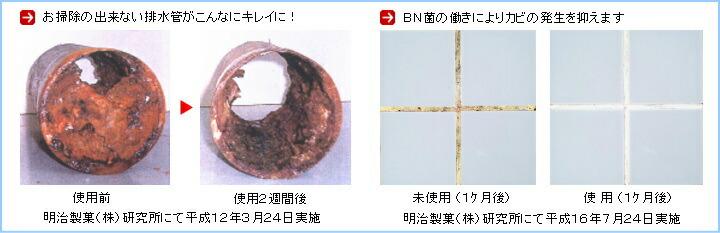 環境浄化バイオ製剤の使用効果事例