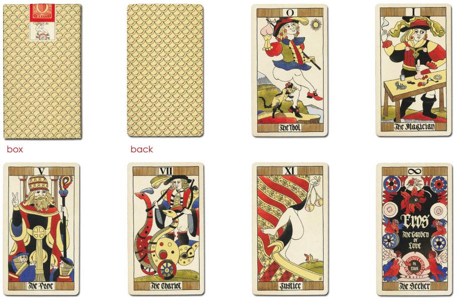 【タロットカード】エロス・ザ・ガーデン・オブ・ラブ・タロット☆EROS THE GARDEN OF LOVE(2)