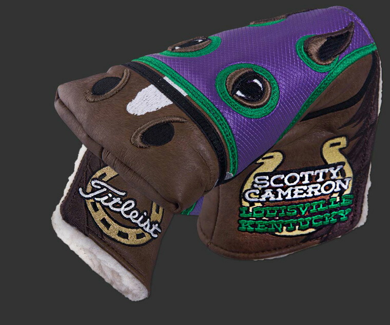 2 ■ Scotty Cameron 2014 U S  LPGA Championship /PGA Championship PGA  Thoroughbred Mid-Mallet Headcover ( type ) Titleist Scotty Cameron putter  cover