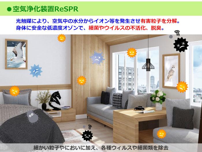 空気浄化装置ReSPR