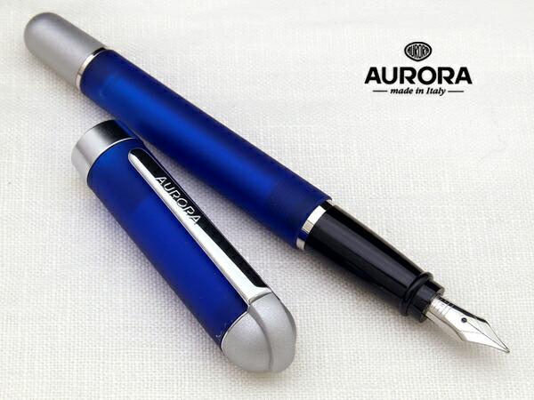 Aurora AURORA Japan unreleased IDEA and idea! For an introduction to pen  translucent blue