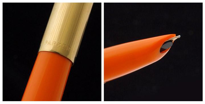 51 fountain pen オレンジエアロマティック filling systems