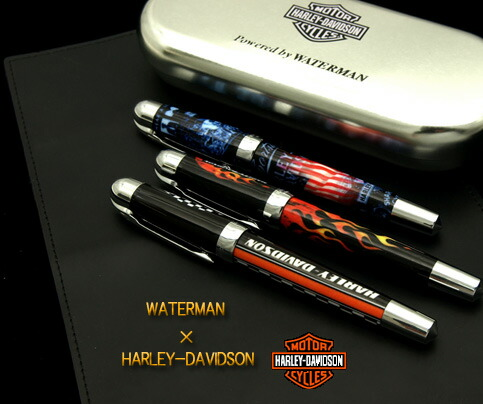 Waterman X Harley Davidson Gt Collaboration With Fountain Pen