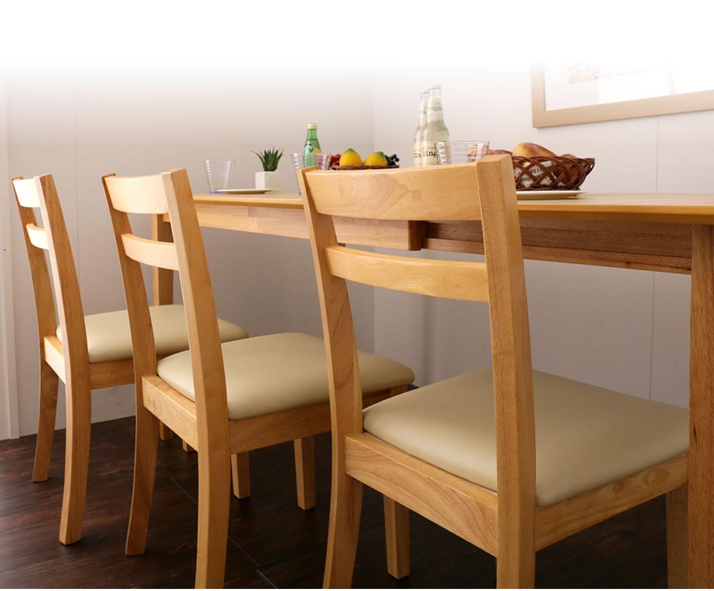 ナチュラルなインテリアコーディネートにピッタリの木製椅子