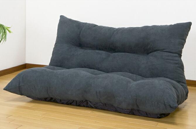 ふんわりリクライニングソファー 2人掛け