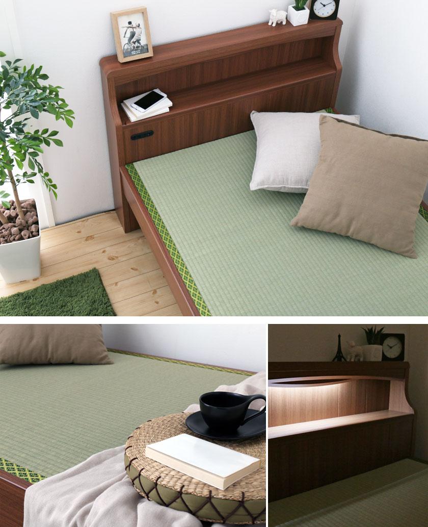 い草畳ベッド イメージ画像