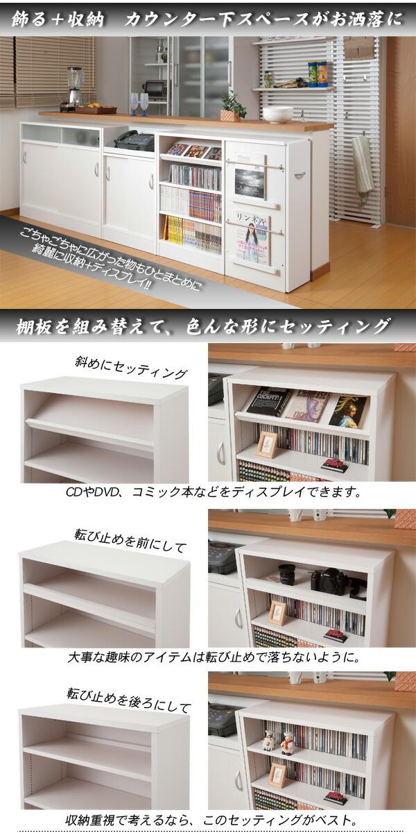 White Under Counter Storage. Drawer 40 Cm In Width, Type