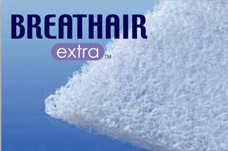 クッション性・通気性・耐久性・制菌に優れた新素材。