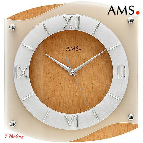 ドイツAMS9321 18掛け時計 AMSアムス社ドイツ製