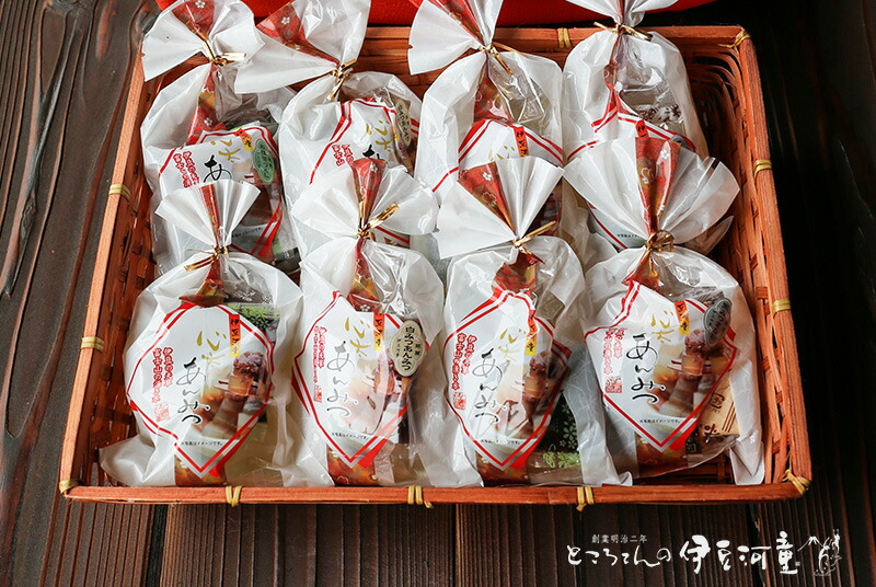 竹籠入り あんみつ 8個セット 和菓子 ギフト 贈答品 季節 贈り物 中元 お歳暮 和菓子 和スイーツ