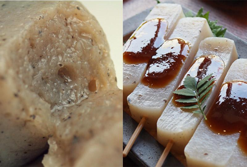 伊豆河童 三嶋の串こんんにゃく 味噌おでん