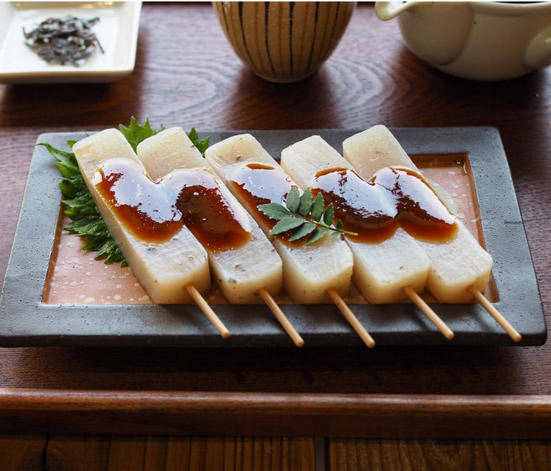 三嶋の味噌おでん 串おでん こんにゃくおでん 伊豆河童