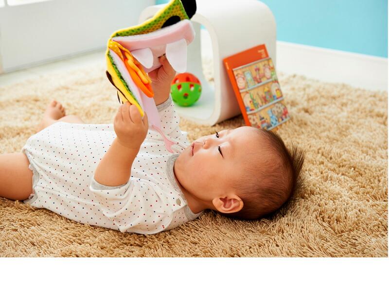 バギーでおでかけ布絵本 いないいないばあ /布のおもちゃ/布製玩具/絵本/布絵本/知育おもちゃ/出産祝い/教育玩具/