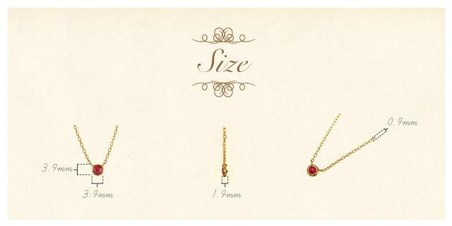 K18 necklace liberty