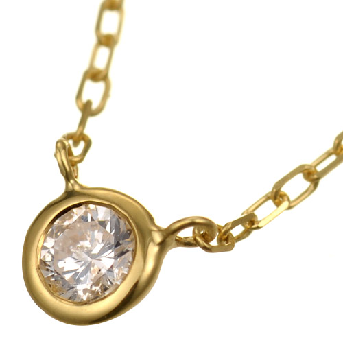 K18 diamond necklace liberty