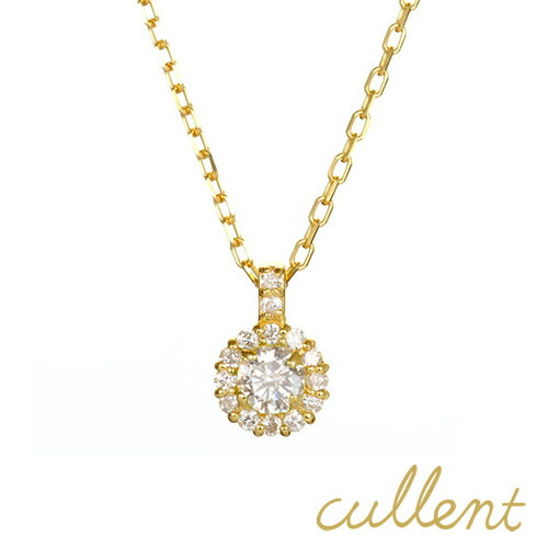 カレンK18 ダイヤモンドネックレス cheer