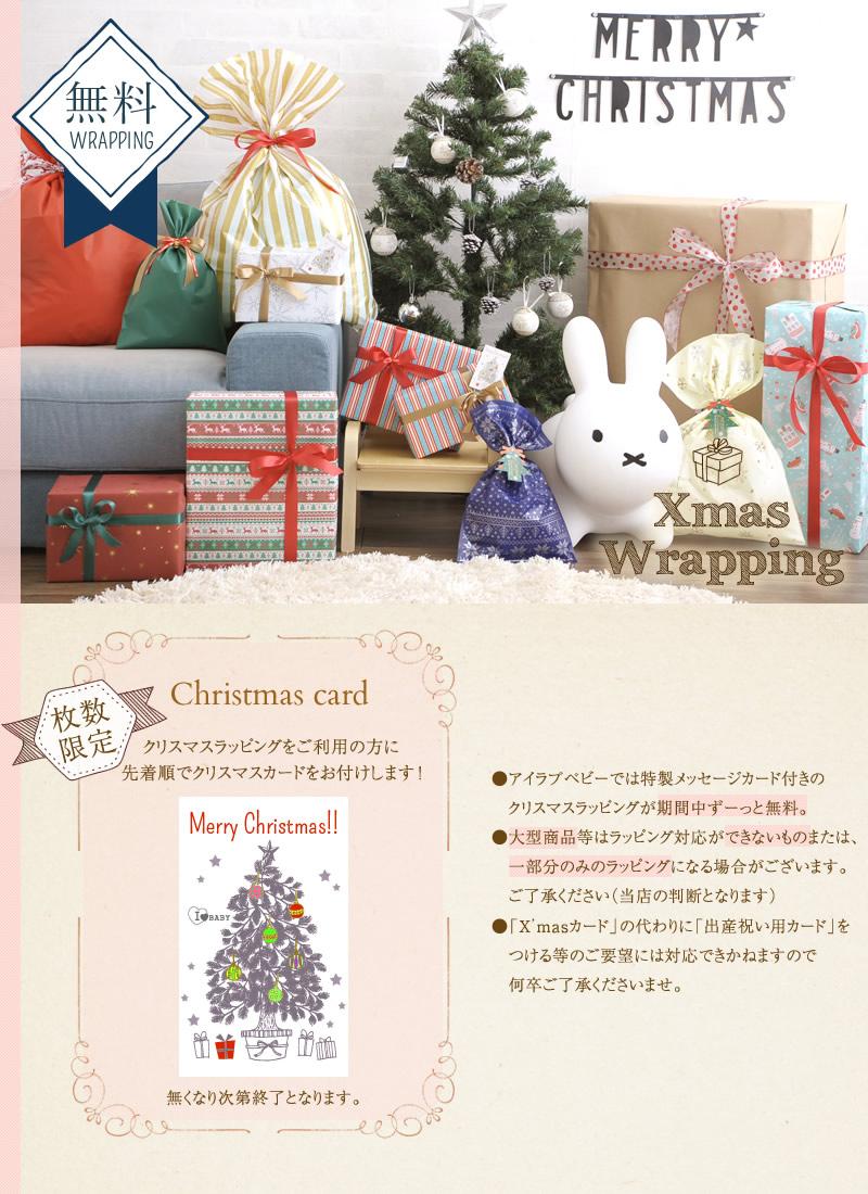 クリスマスラッピング(X'masカード付)