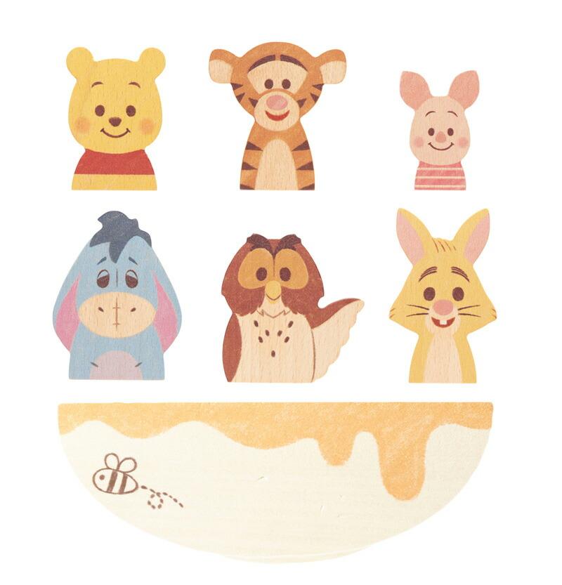 Disney|KIDEA BALANCE GAME/くまのプーさんとなかまたち TYKD00401