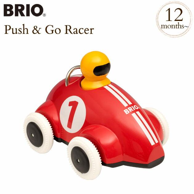 BRIO(ブリオ)プッシュ&ゴー レーサーカー