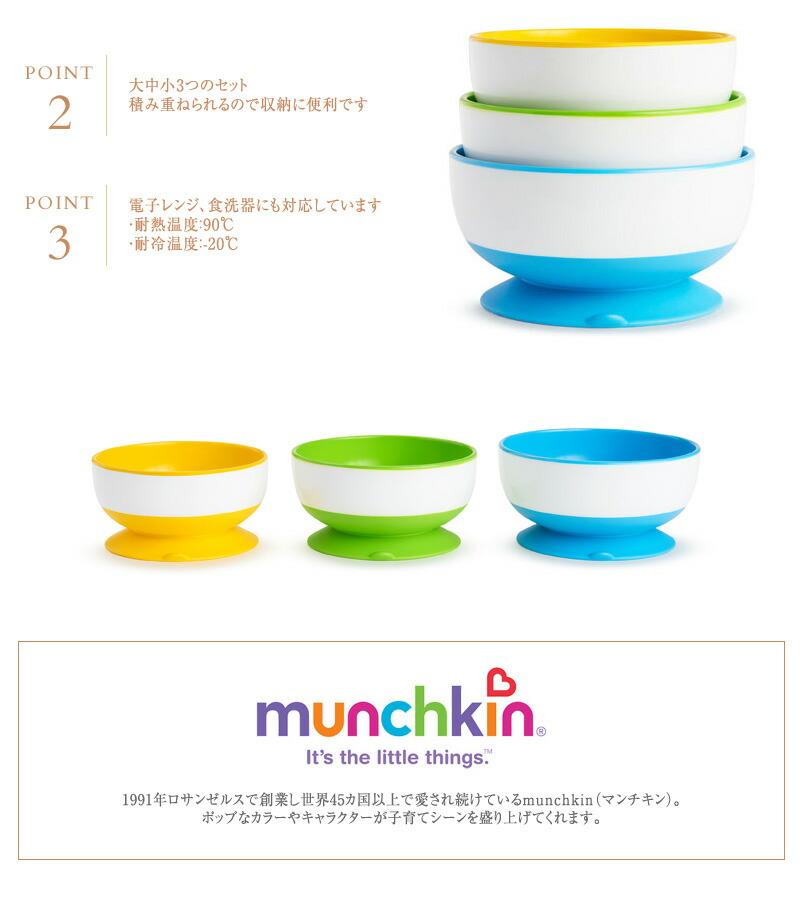 munchkin(マンチキン) たべたくな〜る サクションボウル FDMU49003