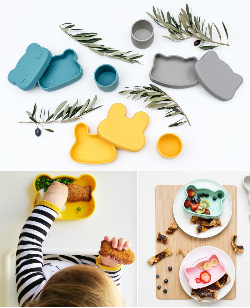 We Might Be Tiny ウィーマイトビータイニー  Silicone Snackies くま