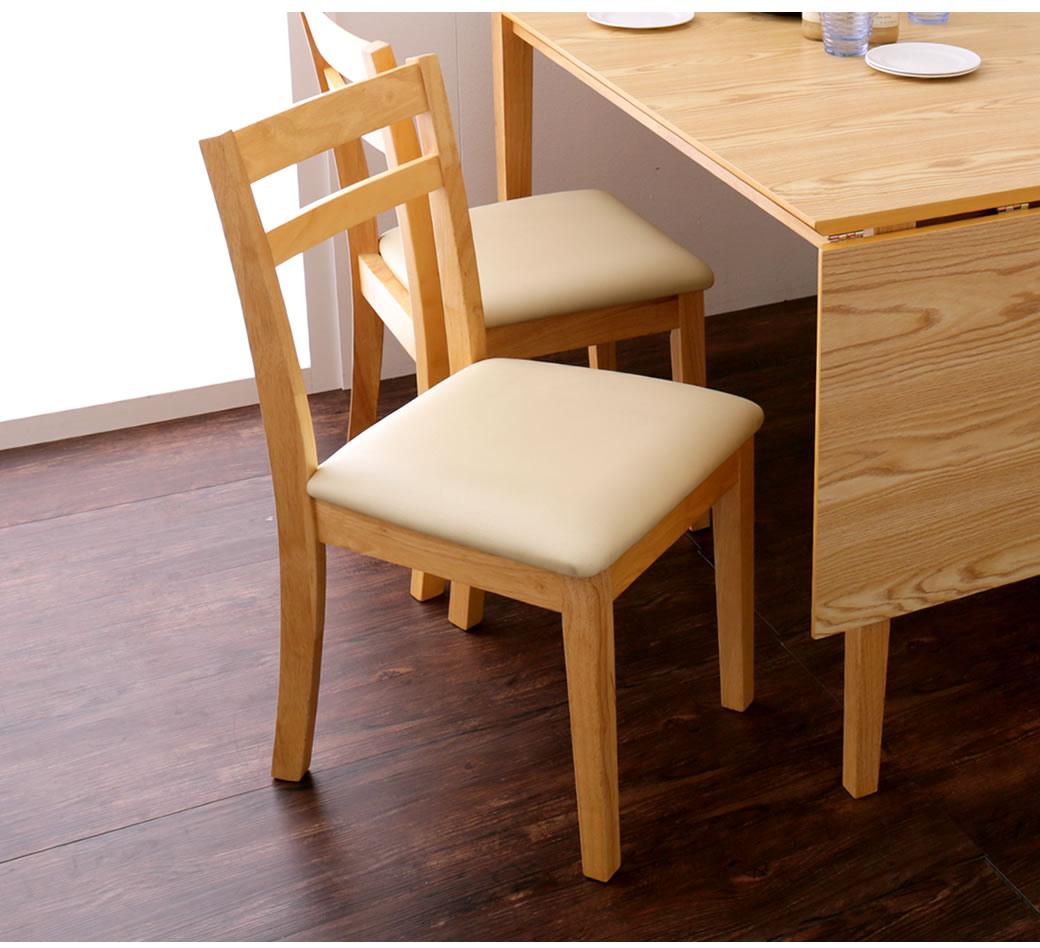 シンプルデザイン 食事椅子