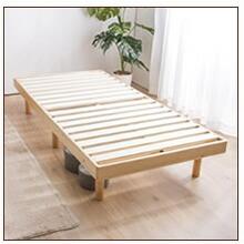 パイン材木製ベッドシングル