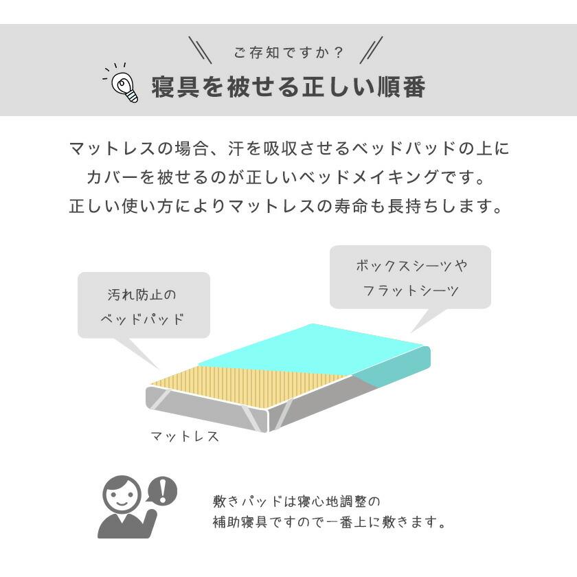 ベッドメイキング方法