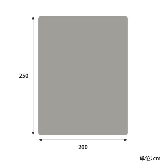 ウィルトン織ベルギーラグ サイズ詳細画像