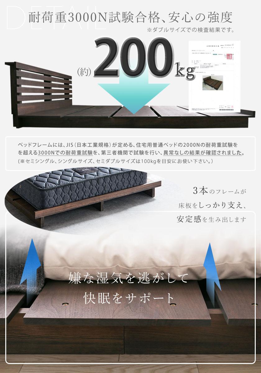 STACEY ステージベッド 耐荷重、通気性画像