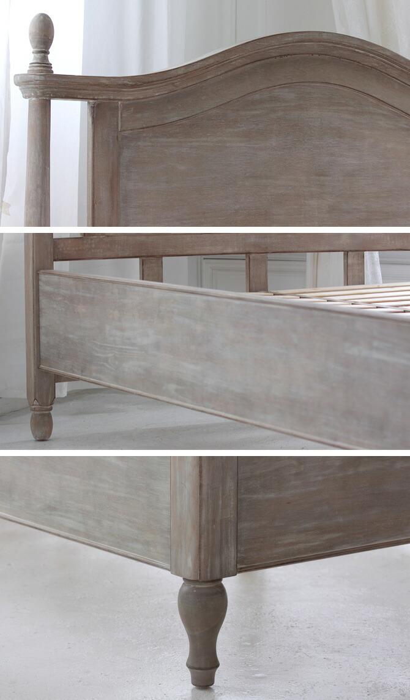 レトロな雰囲気のヨーロピアンクラシック調ベッド