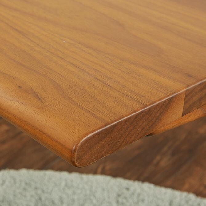「スマート!サイドテーブル」幅45cm 人気のウォールナット材・ブラックチェリー材を採用。