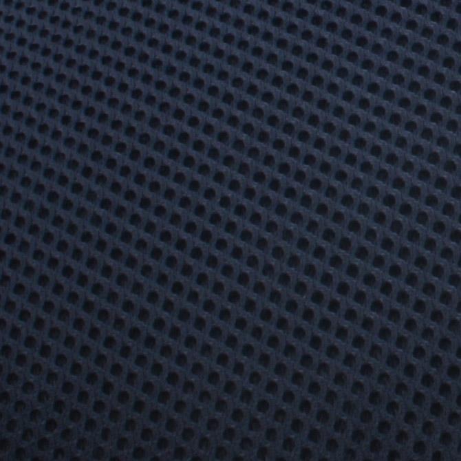 ブレスエアー ベッドパッド セミダブル 裏地:3Dダブルラッセル織メッシュ地。
