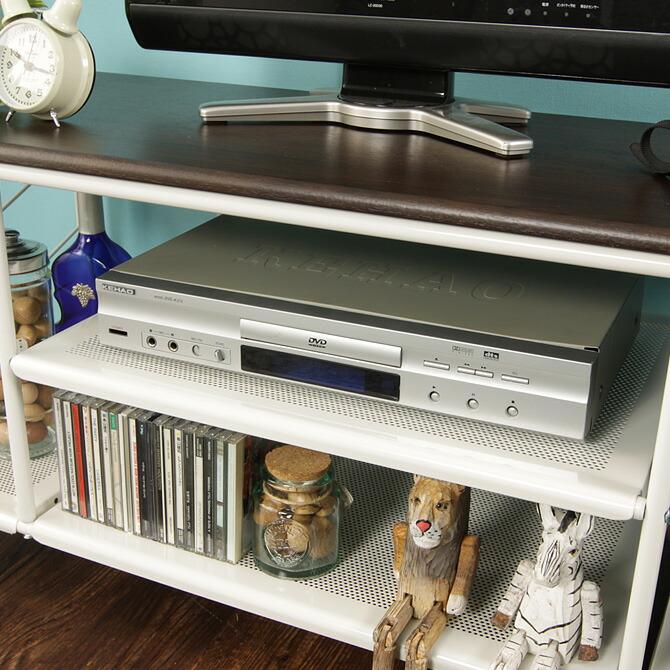 テレビ台 カナル 幅100cm 棚板の耐荷重は5kg