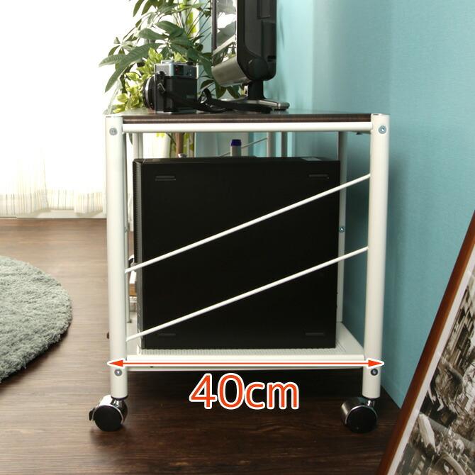 テレビ台 カナル 幅100cm サイドは斜めのスチールパイプがおしゃれ