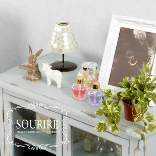 シャビーシック家具シリーズ「SOURIRE」小物を置いて、より素敵に。