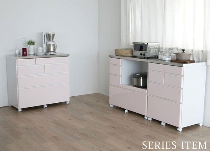 ステンレス天板キッチンカウンターシリーズ