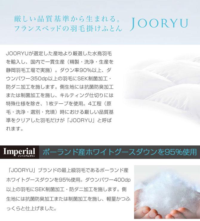 [JOORYU]ブランド薄掛け羽毛布団