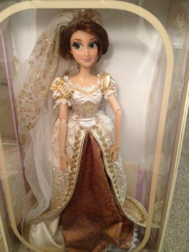 ディズニー プリンセス ドール 人形 フィギュア 限定 塔の上のラプンツェル ウェディング Disney Tangled Ever After Exclusive Limited Edition 17 Inch Deluxe Doll Wedding Rapunzel|i selection
