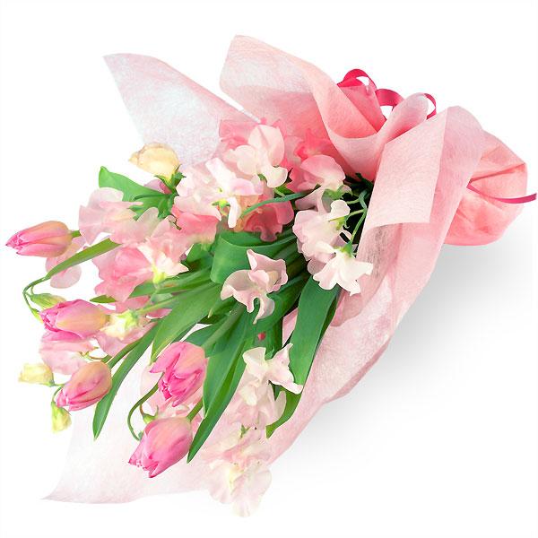 【チューリップ特集】チューリップの花束 111014 |花キューピットの2020チューリップ特集特集