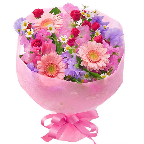 ガーベラのブーケ(ピンク) |フラワーバレンタインにおすすめ!人気のプレゼント特集 2019 |フラワーバレンタイン