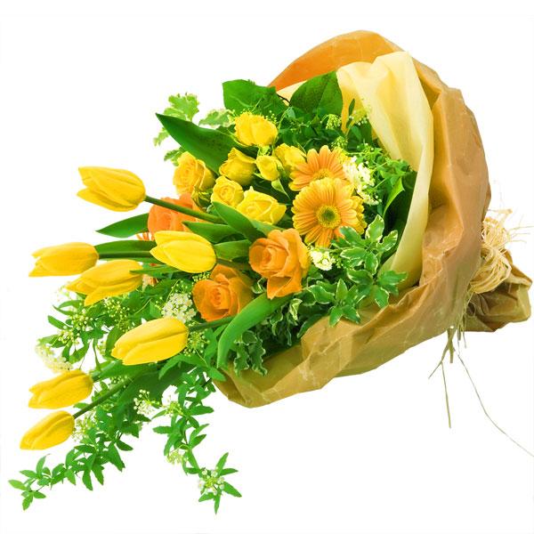 【春の退職祝い・送別会特集】チューリップの花束 111021 |花キューピットの2020春の退職祝い・送別会特集特集